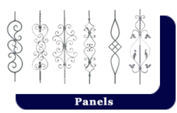 Wrought Iron - Panel