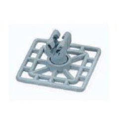 Square Type Earth- Clamp Holder Plastic(Nylon Six)