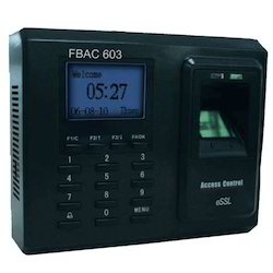 Fingerprint& Card Based T&A Cum Access Control -FBAC603