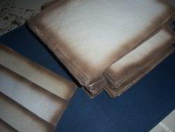 Antique Look Handmade Papers