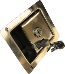 Flush Lock -1 (Stainless Steel)