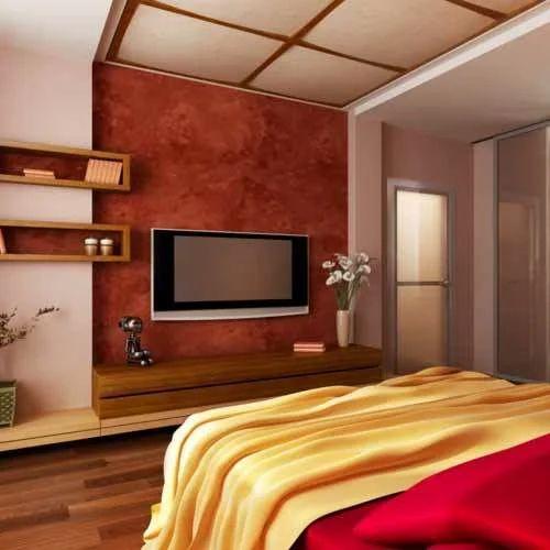 Colorfull Bedroom Interior Service