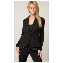 Ladies Black Suit
