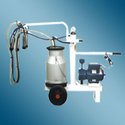 Milking Machine with Single cluster