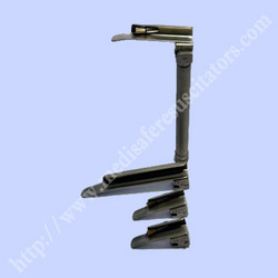 Laryngoscope Matt Finish Handle