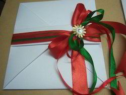 Fancy Envelopes With Ribbon And Brooch