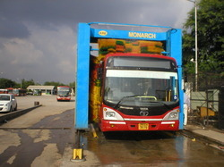 Bus Washing Automatically