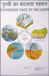 External Agents For Changing Face Of the Earth Chart