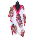 Flower Bunch Print Kaftan