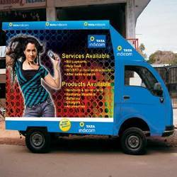 Mobile Branding Hoardings