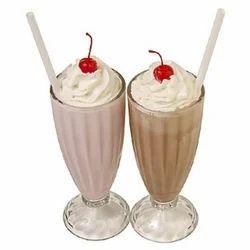 vanilla thick milk shake