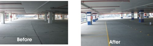 Parking Deck PU Coatings