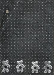 Dew Drop Printed Scrapbook Paper with Embroidery