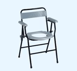 Commode Chairs With Back Rest
