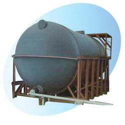 PVC Acid Horizontal Processing Tanks