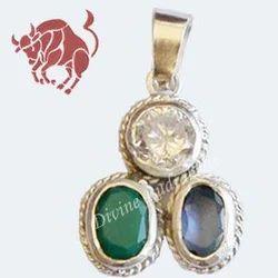 Gems Pendant For Taurus