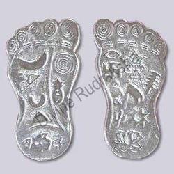 Auspicious Laxmi Steps In Silver