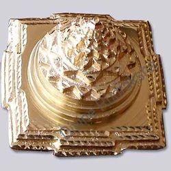 Meru Chakra Gold Plated