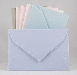 Pastel Shaded Handmade Paper Envelopes