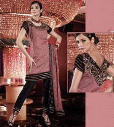 Silk Fabric Salwar Kameez