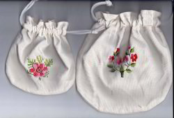 Spring Bag With Hand Embroider