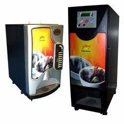 Coffee Vending Machine On Al Basis