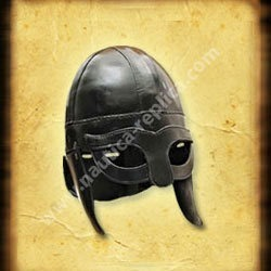 Casco Viking Helmet Leather Coated