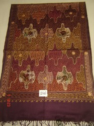 Embroidered Shawls, Scarves & Stoles