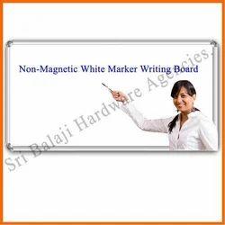 Non Magnetic White Marker Boards