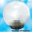 Reeded Prismatic Garden Lighting