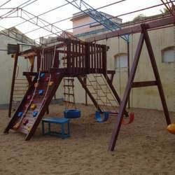 Wooden Castle (Playground Equipment)-4