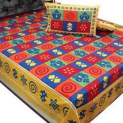 Jaipuri Double Bed Sheets
