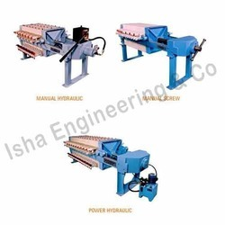 Manually Operated Filter Press