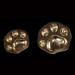 Brass Pug Ashtray