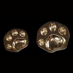 Brass Pug Ashtray