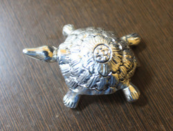 White Metal Tortoise