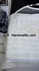 Hand Embroidered Bedsheet