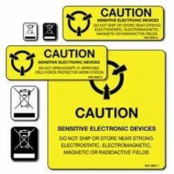 Electric Equipment Label