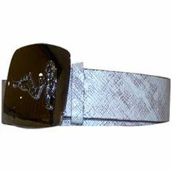 Brushed Ladies Belts