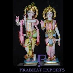 Marble Radha Krishan Murti