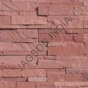Agra Red Ledgestone