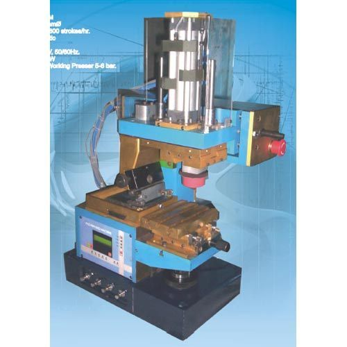 Open Inkwell Pad Printing Machine