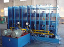 rubber hydraulic conveyor press
