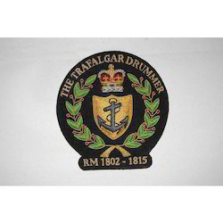 The Trafalgar Drummer Blazer Badge