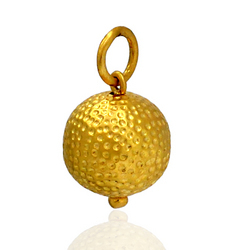 Gold Ball Charms