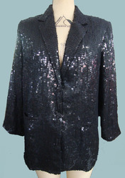 Ladies All Over Sequin Coat - Antthny - W14nm002