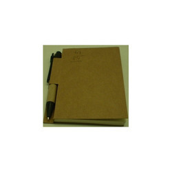 eco book with pen