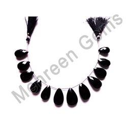Black Onyx Pear Briolette