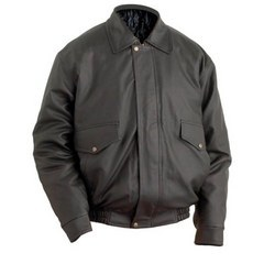 Leather Collar Jacket-FCCJ 004