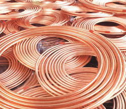 Copper Tubes Lagged Coils For Gas